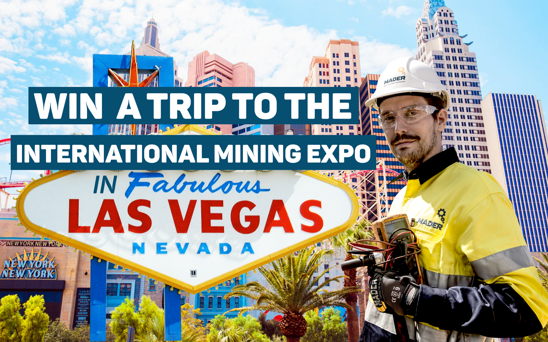 Win a trip to the International Mining Expo in Las Vegas image