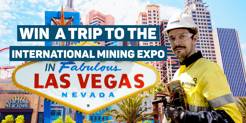 Win a trip to the International Mining Expo in Las Vegas