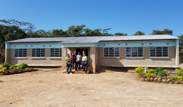 Kijilamatambo School construction project in Zambia