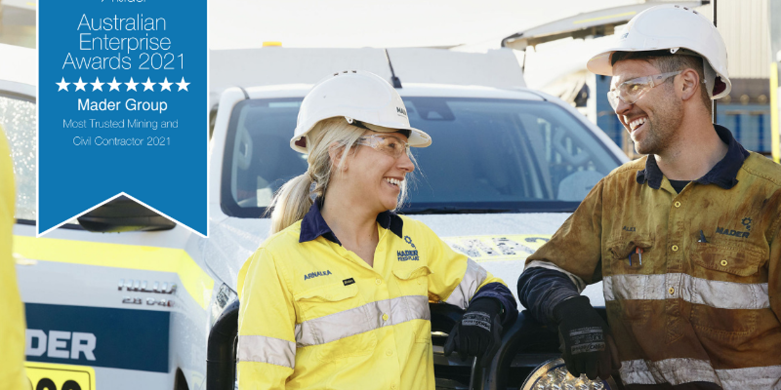 Mader Group awarded 'Most Trusted Mining and Civil Contractor' in Australian Enterprise Awards