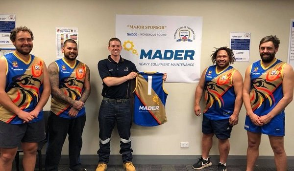 Townsite Eagles Football Club - Indigenous Round Jumper Presentations