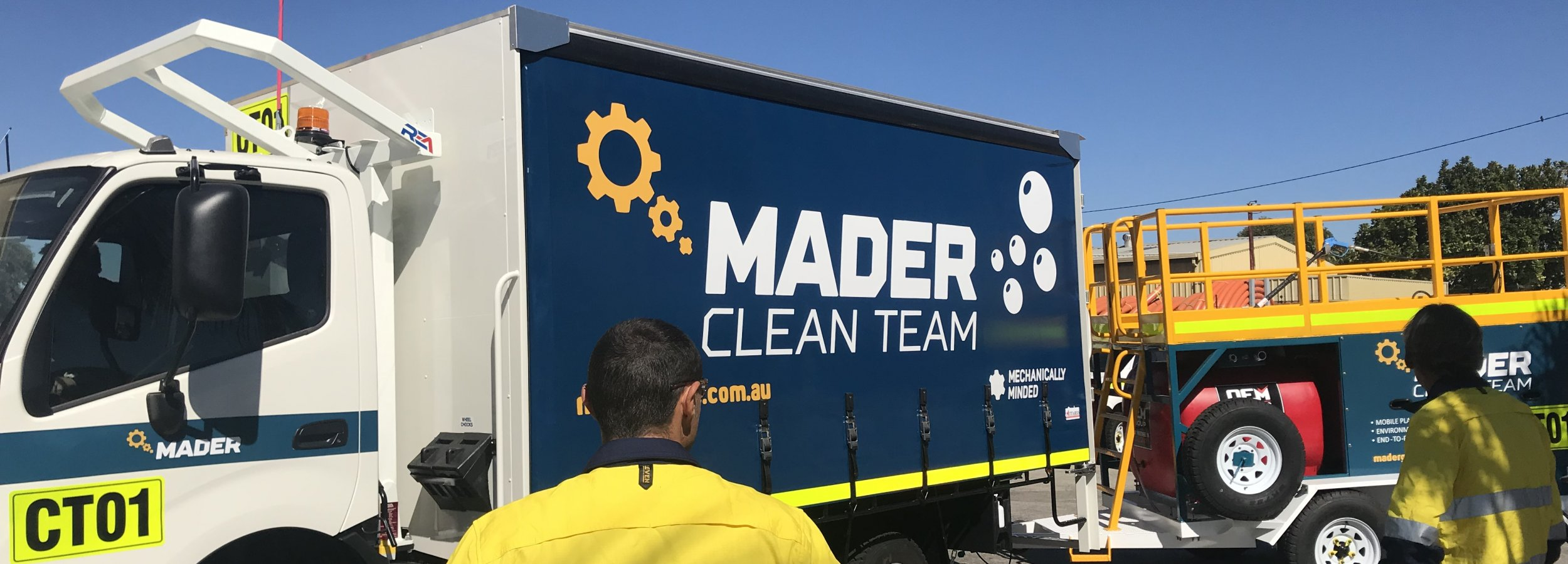 Mader Clean Team image