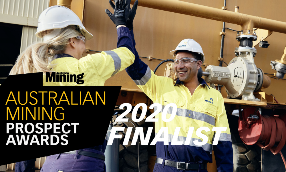Mader Group announced as finalist in the 2020 Contract Miner of the Year Awards image