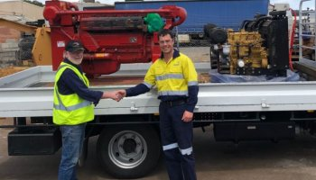 Mader Group donates engines to Thornlie Tafe