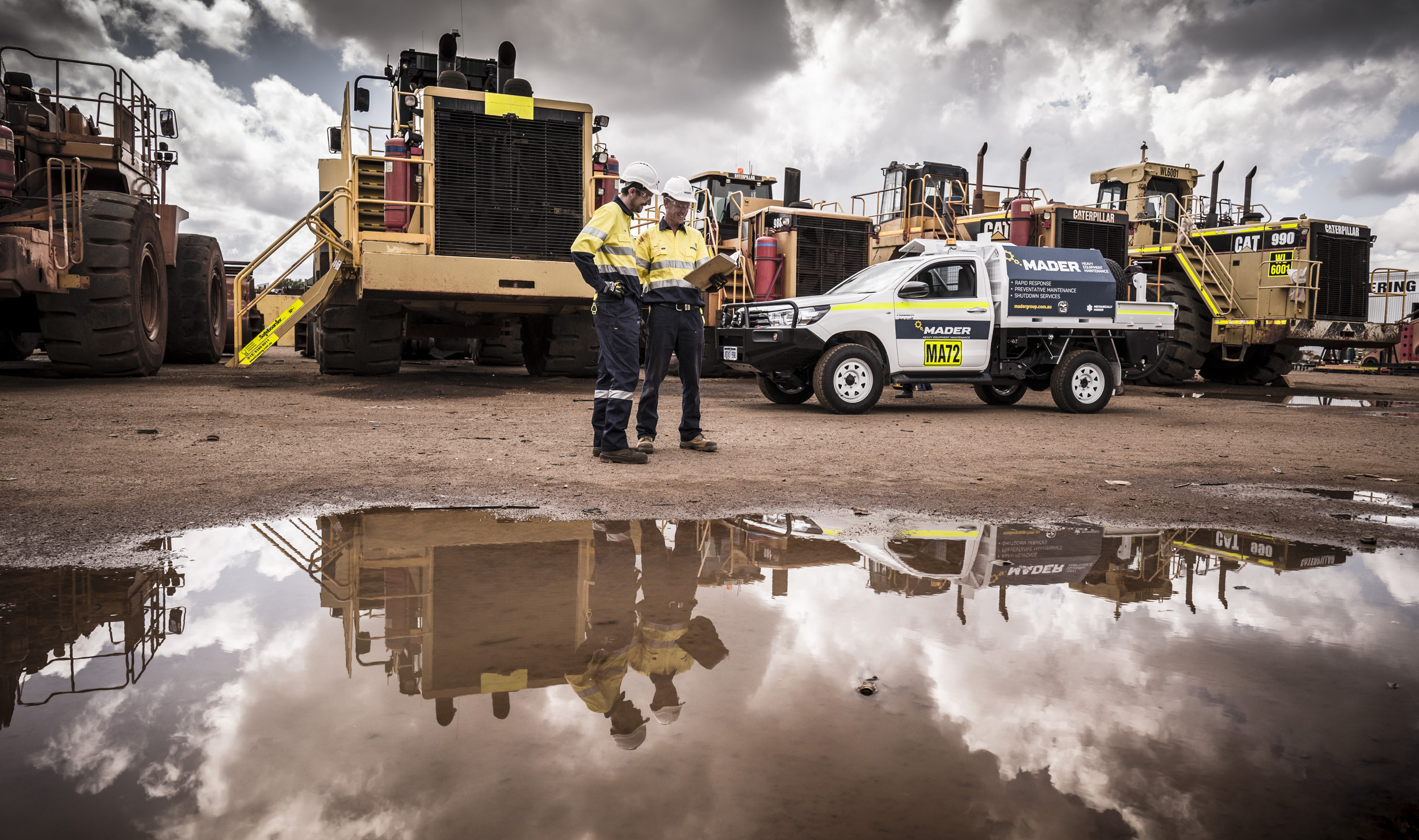 Mader Group - Heavy equipment maintenance, rapid response